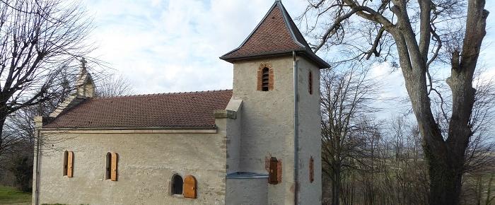 """""""Notre Dame de Bonne Conduite"""", la chapelle de Montceau"""