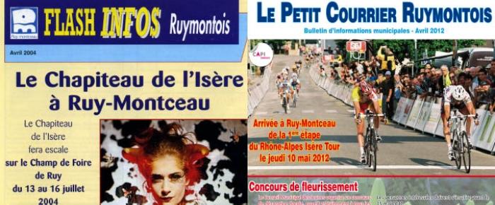 Les archives du Petit Courrier Ruymontois